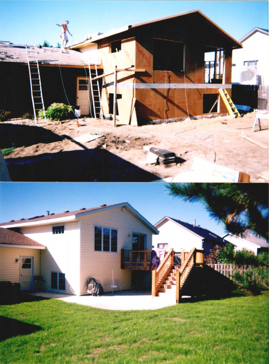 Before & After Addition Windows