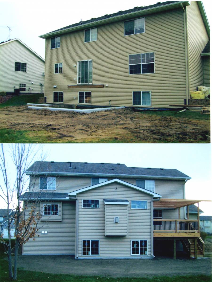 Before & After Addition