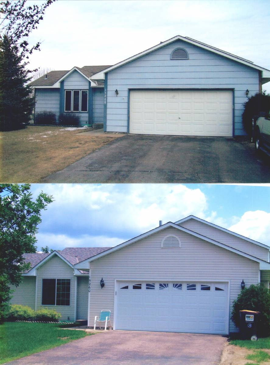 Before & After Windows & Siding